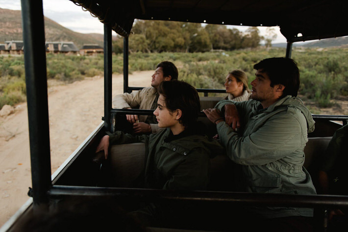 Aquila early morning game drive safari tour